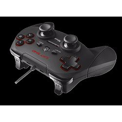 Gamepad TRUST GXT 540, USB, za PC, PS3, 20712, crni