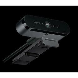 Web kamera LOGITECH HD WebCam BRIO Stream, 4K UHD, XSplit licenca, USB 3.0, crna