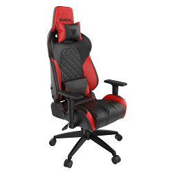 Gaming stolica GAMDIAS ACHILLES E1 L BR, 2D,crno-crvena