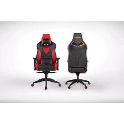 Gaming stolica GAMDIAS ACHILLES M1 L BR, crno-crveni