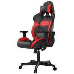 Gaming stolica GAMDIAS ZELUS E1 L BR, 2D, crno-crvena