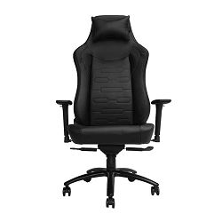 Gaming stolica UVI Chair Elegant Business, crna