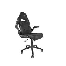 Gaming stolica UVI Chair Simple Office, crna