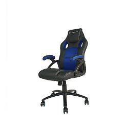 Gaming stolica UVI Chair Storm Blue, crno-plava