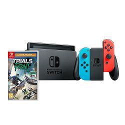 Igraća konzola NINTENDO Switch, Red & Blue Joy-Con HAD + Trials Rising Gold Edition