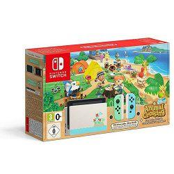 Igraća konzola NINTENDO Switch, Green & Blue Joy-Con HAD, Animal Crossing New Horizon