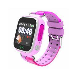 Dječji pametni sat CORDYS, praćenje lokacije, primanje i slanje poziva, slanje SMS-a, rozi