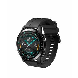 Sportski sat HUAWEI Watch GT 2, HR, GPS, 46mm, multisport, mat crni