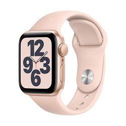 Pametni sat Apple Watch SE GPS, 40mm Gold Aluminium Case with Pink Sand Sport Band - Regular