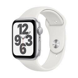 Pametni sat Apple Watch SE GPS, 44mm Silver Aluminium Case with White Sport Band - Regular