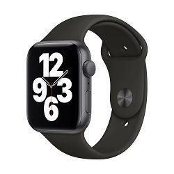 Pametni sat Apple Watch SE GPS, 44mm Space Gray Aluminium Case with Black Sport Band - Regular