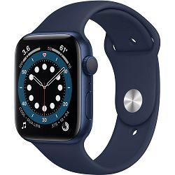 Pametni sat Apple Watch S6 GPS, 44mm Blue Aluminium Case with Deep Navy Sport Band - Regular