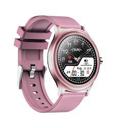 Sportski sat MEANIT Smart watch M30 Lady, pametne obavijesti, ljubičasti