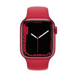Pametni sat Apple Watch S7 GPS, 41mm Red Aluminium Case with Red Sport Band - Regular