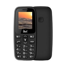 Mobitel MEANIT Veteran I, Dual SIM, crni