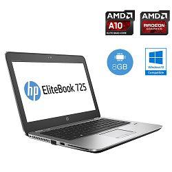 HP EliteBook 725 G3 - SSD, AMD Radeon + Docking station