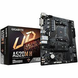 Matična ploča BIOSTAR A520, AM4, 2xDDR4, VGA/HDMI, 1xPCIe x16, 2xPCIe x1, 1xM.2, 4xSATA, GbE LAN, mATX