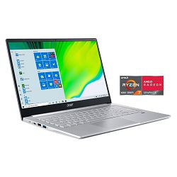 Laptop Acer Swift 3 Silver, NX.HSEEX.00C, Win10Home, 14