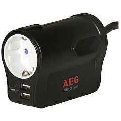 AEG Protect Travel, 3 zaštićene utičnice, 2 USB utora