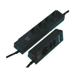 AEG Protect TwinPower, 4+3 zaštićene utičnice, 2 zaštićena USB utora za punjenje, zaštita za djecu