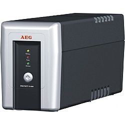 AEG UPS Protect A 500VA,300W, Line-Interactive, AVR, Data line,network protection, USB,RS232