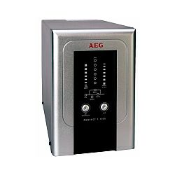 AEG UPS Protect C 1000VA,700W, VFI, On-line double conversion, floor standing, automatic bypass, RS232 interface