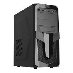 Kučište Akyga AKY25BK, 1x USB 3.0, crno bez napajanja, ATX