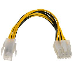 Akyga 4 pin(M) na 8pin(F) EPS produžni kabel