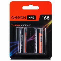 Canyon NRG alkaline battery AA, 2pcs/pack