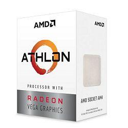 Procesor AMD Athlon 3000G, 3.5GHz, 2C/4T, Vega, AM4,35W,box
