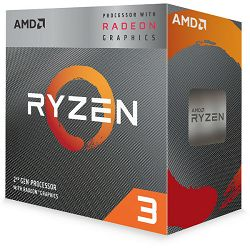 AMD Ryzen 3 3200G, 4C/4T, 3.6GHz,RX VEGA, box, AM4
