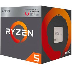 Procesor AMD Ryzen 5  2400G, 4C/8T,RX VEGA, box, AM4