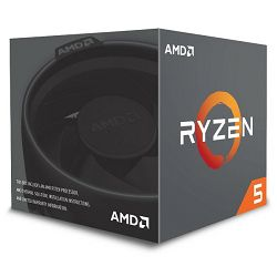 AMD Ryzen 5 2600, 6C/12T 3,4GHz/3,9GHz, 19MB, AM4