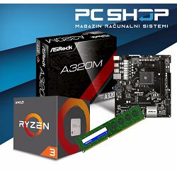 AMD AM4 Ryzen 3 Basic Bundle