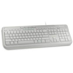 Microsoft 600 Wired tipkovnica, USB, bijela