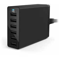 Anker PowerPort 6 EU Black