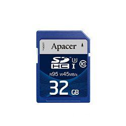 Apacer SDHC UHS-I U3 CL10 R95/W45, 32GB