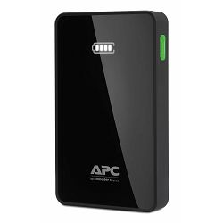 APC APC Mobile Power Pack, 10000mAh Li-polymer, Black