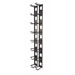 APC AR8442, Vertical Cable Organizer, 8 Cable Rings, Zero U