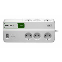 APC SurgeArrest 6-outlet SurgeArrest 6 outlets with 5V, 2.4A 2 port USB charger