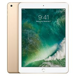 Apple 9.7-inch iPad Wi-Fi 128GB - Gold - mpgw2hc/a