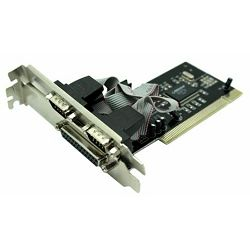Asonic PCI controler 2xRS232 i 1xparalel
