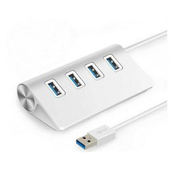 Asonic 4Port Hub USB 3.0,Tip A,aluminijsko kućište