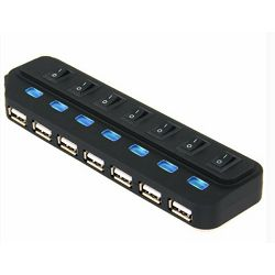 Asonic USB 3.0 7Port Hub + 5V power