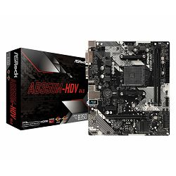 ASRock Main Board Desktop AB350M-HDV R4.0