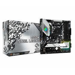 ASRock Main Board Desktop B550M STEEL LEGEND
