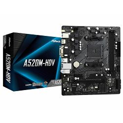 ASRock Main Board Desktop A520M-HDV