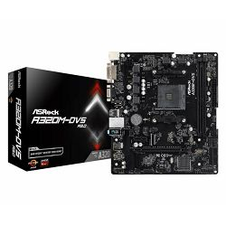 Asrock AMD AM4 Socket A320 chipset (mATX) MB