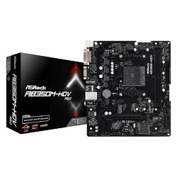 Matična ploča Asrock AMD AM4 Socket B350 chipset (mATX) MB