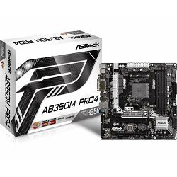 Matična ploča Asrock AMD AM4 Socket B350 Chipset (ATX) MB